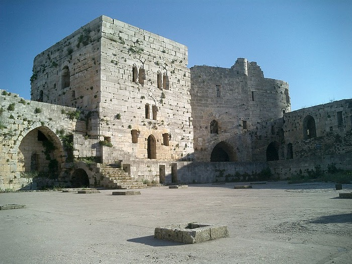 Крепость Крак-де-Шевалье или Крак де л'Оспиталь 14349