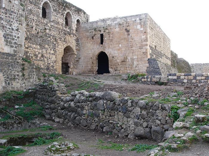 Крепость Крак-де-Шевалье или Крак де л'Оспиталь 80901