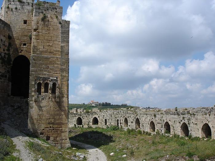 Крепость Крак-де-Шевалье или Крак де л'Оспиталь 70062