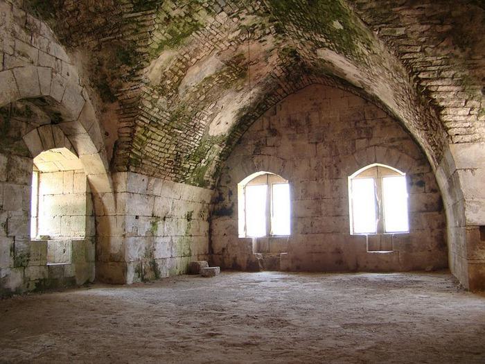 Крепость Крак-де-Шевалье или Крак де л'Оспиталь 13423