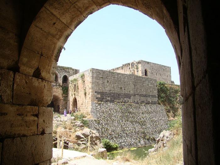 Крепость Крак-де-Шевалье или Крак де л'Оспиталь 49485