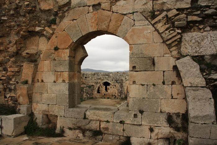Крепость Крак-де-Шевалье или Крак де л'Оспиталь 27519