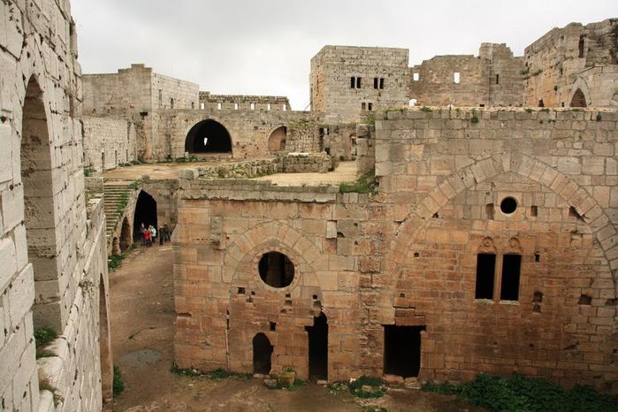 Крепость Крак-де-Шевалье или Крак де л'Оспиталь 30547