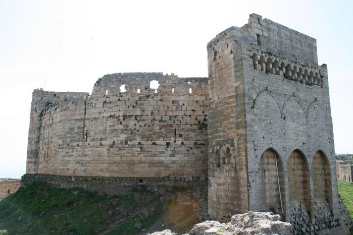 Крепость Крак-де-Шевалье или Крак де л'Оспиталь 39630