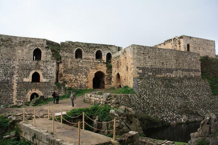 Крепость Крак-де-Шевалье или Крак де л'Оспиталь 14650