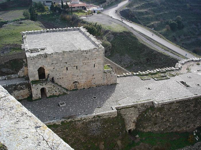 Крепость Крак-де-Шевалье или Крак де л'Оспиталь 82416
