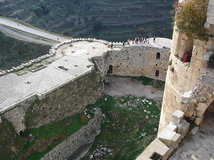 Крепость Крак-де-Шевалье или Крак де л'Оспиталь 84829