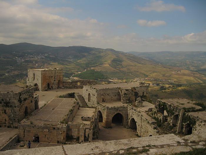 Крепость Крак-де-Шевалье или Крак де л'Оспиталь 99007