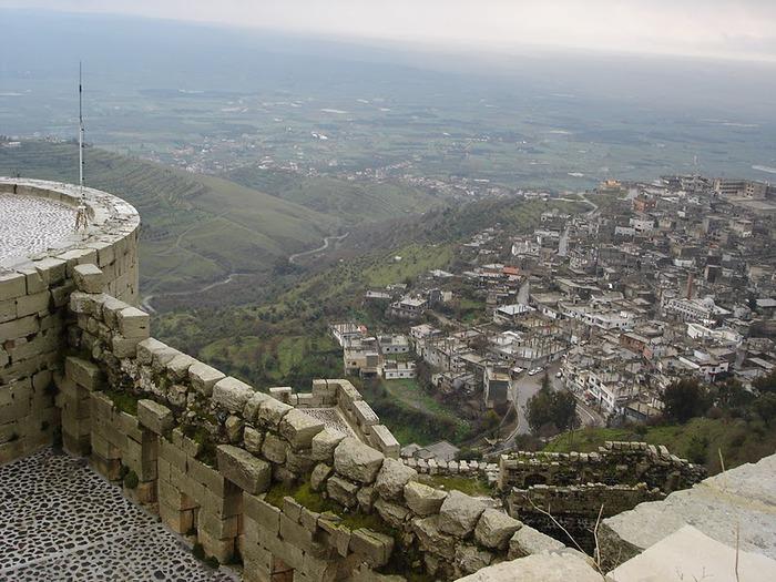 Крепость Крак-де-Шевалье или Крак де л'Оспиталь 22965