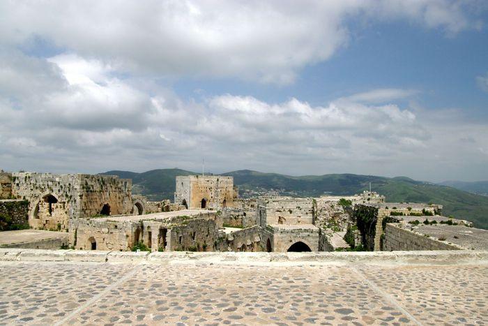 Крепость Крак-де-Шевалье или Крак де л'Оспиталь 41866