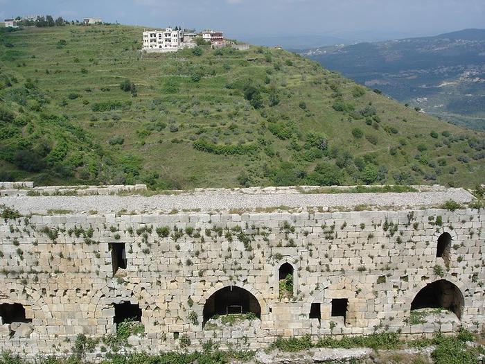 Крепость Крак-де-Шевалье или Крак де л'Оспиталь 18535