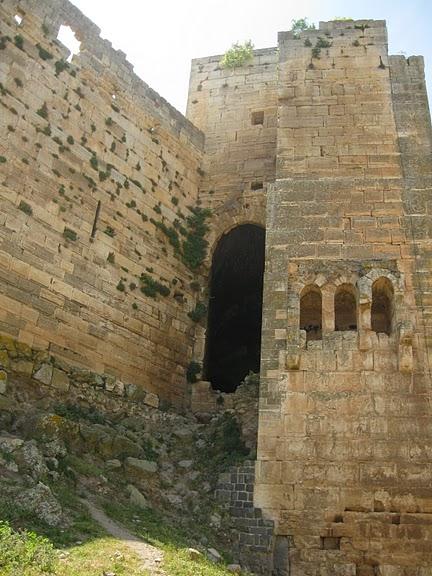 Крепость Крак-де-Шевалье или Крак де л'Оспиталь 15560