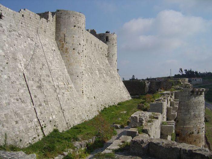 Крепость Крак-де-Шевалье или Крак де л'Оспиталь 28284