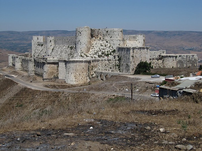 Крепость Крак-де-Шевалье или Крак де л'Оспиталь 59732