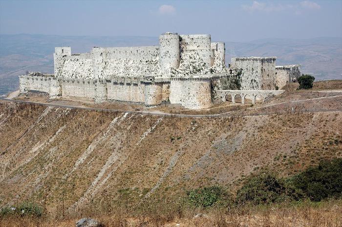 Крепость Крак-де-Шевалье или Крак де л'Оспиталь 37511