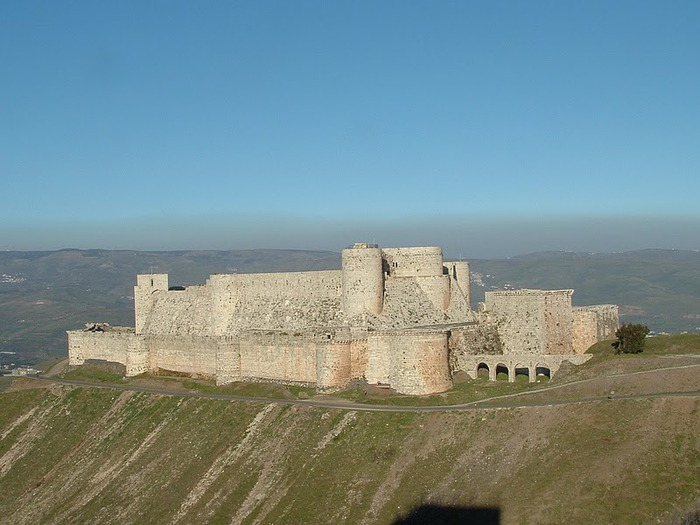 Крепость Крак-де-Шевалье или Крак де л'Оспиталь 58327