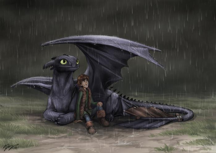 Как приручить дракона фан сайт