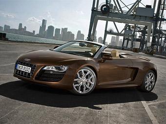 Audi R8 продвижение