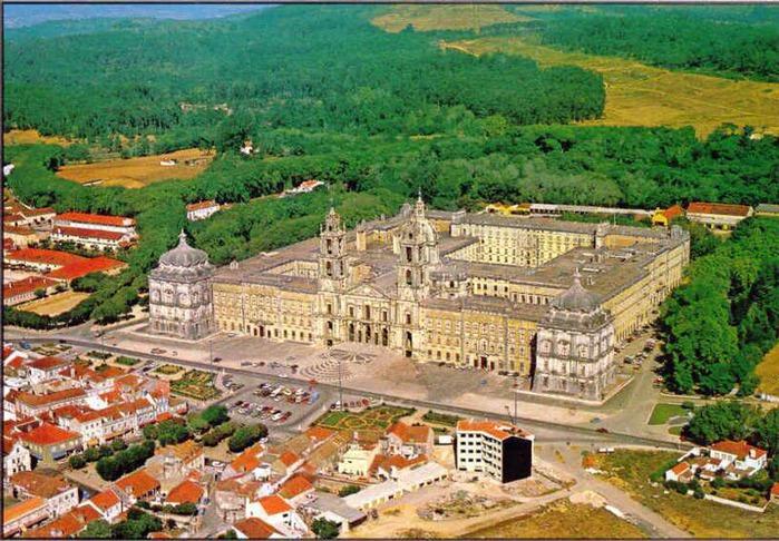 Дворец-монастырь да Мафра (Марфа, Португалия) 73159