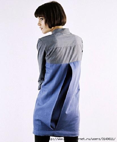 Переделка мужских рубашек: только идеи