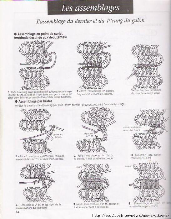 比利时花边教程(4)  - 荷塘秀色 - 茶之韵
