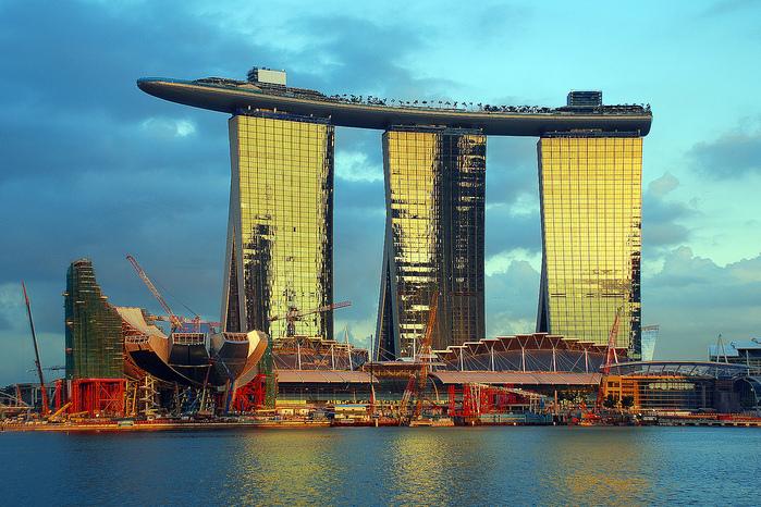 Чудо света самое дорогое казино мира-Marina Bay Sands 84960