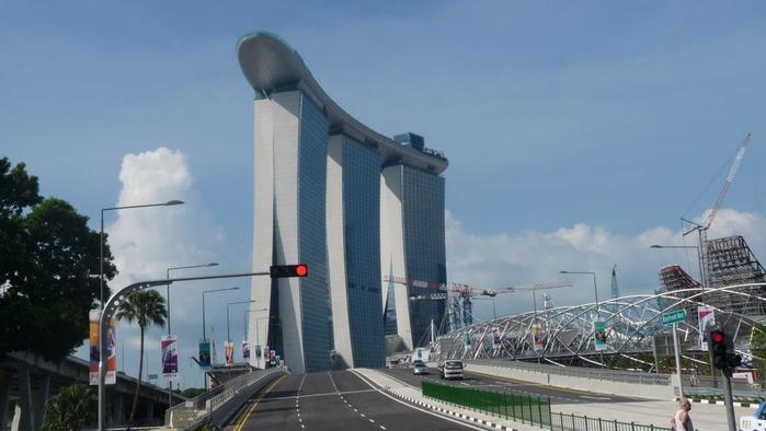 Чудо света самое дорогое казино мира-Marina Bay Sands 39967