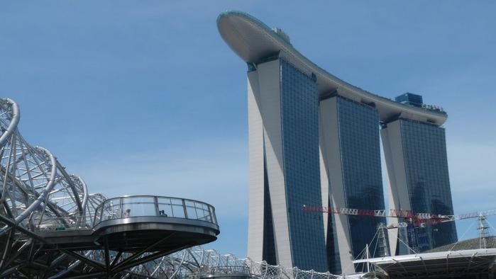 Чудо света самое дорогое казино мира-Marina Bay Sands 88719