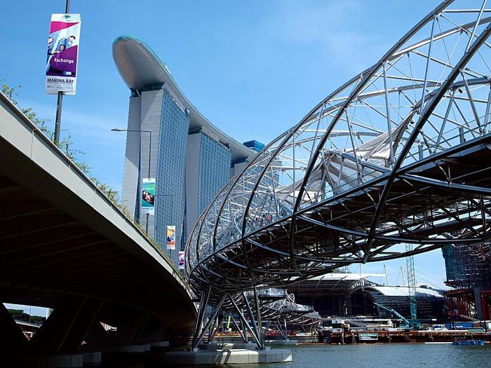 Чудо света самое дорогое казино мира-Marina Bay Sands 72168