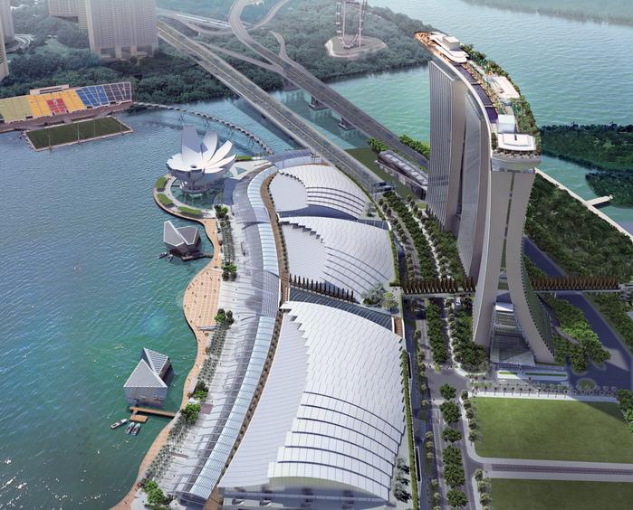 Чудо света самое дорогое казино мира-Marina Bay Sands 97458