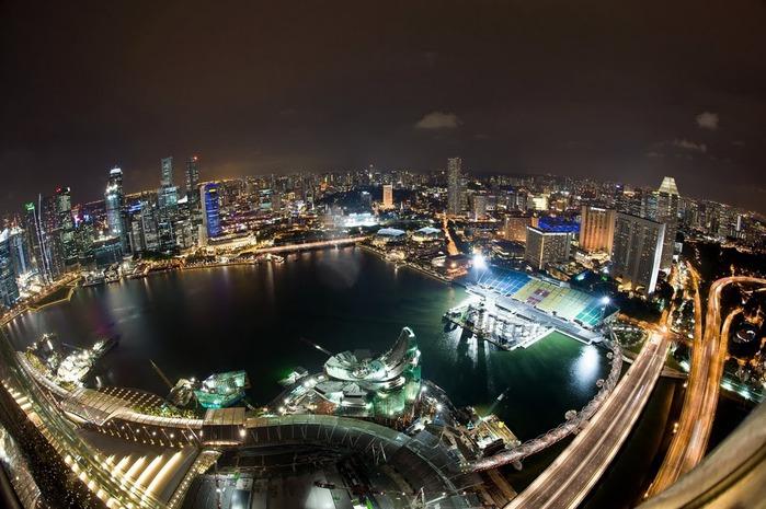 Чудо света самое дорогое казино мира-Marina Bay Sands 22017