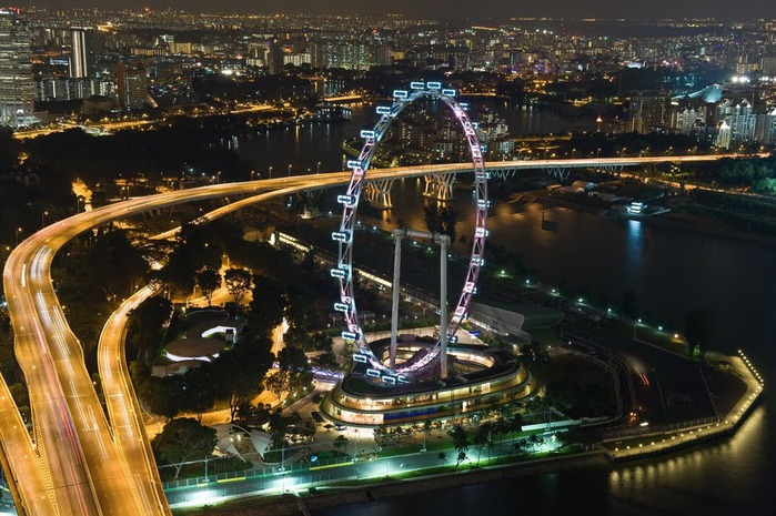 Чудо света самое дорогое казино мира-Marina Bay Sands 38459