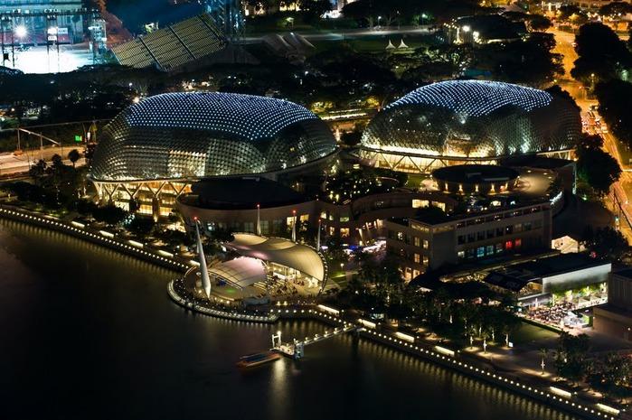 Чудо света самое дорогое казино мира-Marina Bay Sands 75047