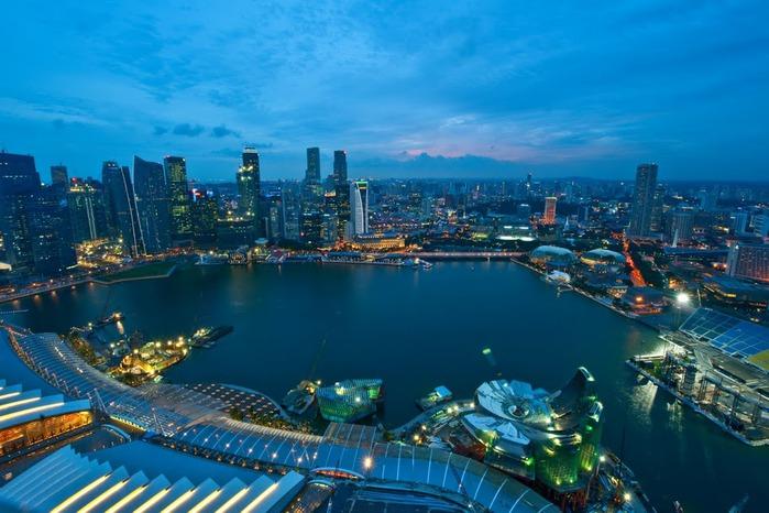 Чудо света самое дорогое казино мира-Marina Bay Sands 82741