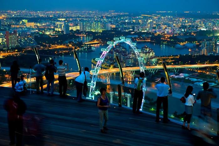 Чудо света самое дорогое казино мира-Marina Bay Sands 48139