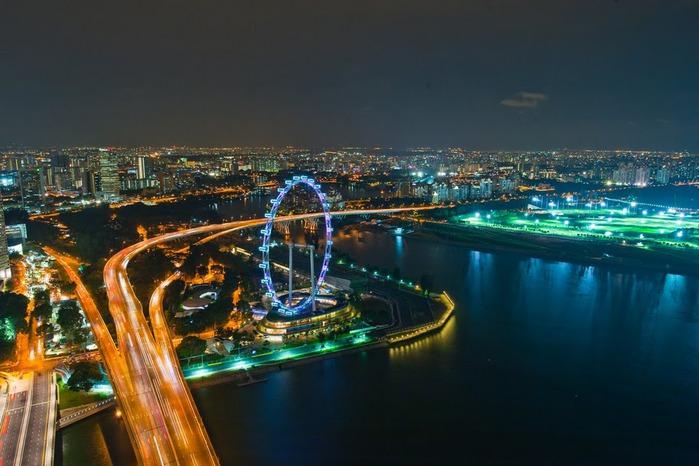 Чудо света самое дорогое казино мира-Marina Bay Sands 80258
