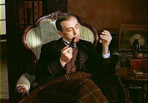 Василий Ливанов - самый лучший Шерлок Холмс на мой взгляд, никакой Гай Ричи и рядом не валялся