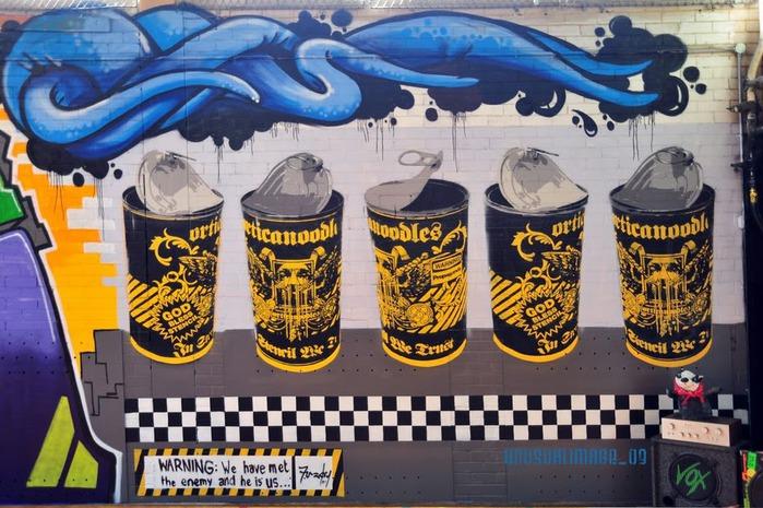 Стрит-арт (англ. Street art — уличное искусство) 49114