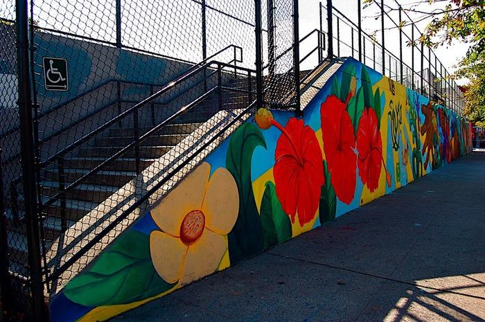 Стрит-арт (англ. Street art — уличное искусство) 49700