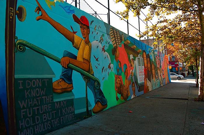 Стрит-арт (англ. Street art — уличное искусство) 28744