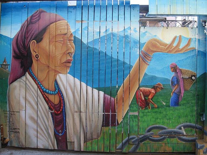 Стрит-арт (англ. Street art — уличное искусство) 41672