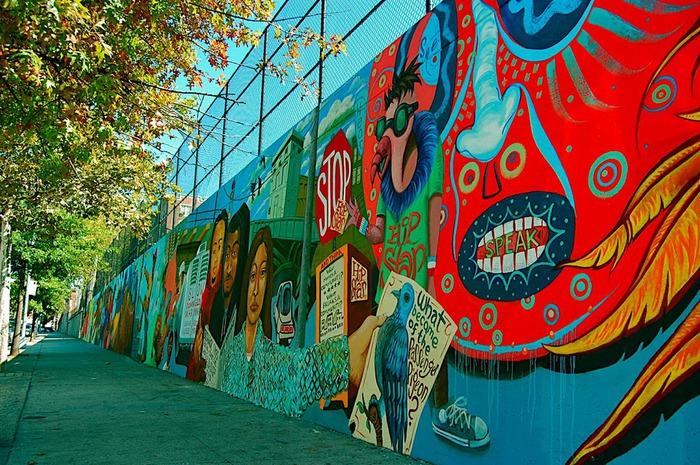 Стрит-арт (англ. Street art — уличное искусство) 28606