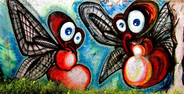 Стрит-арт (англ. Street art — уличное искусство) 15500