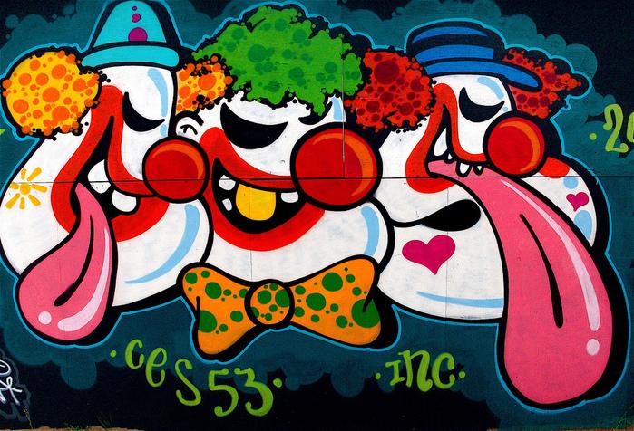 Стрит-арт (англ. Street art — уличное искусство) 78984