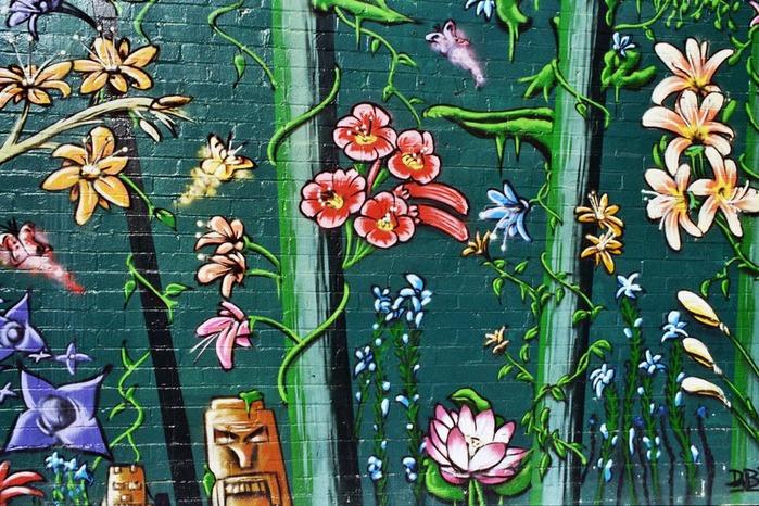 Стрит-арт (англ. Street art — уличное искусство) 75876