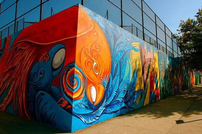 Стрит-арт (англ. Street art — уличное искусство) 31978