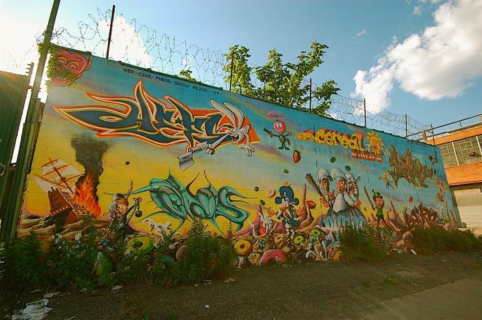 Стрит-арт (англ. Street art — уличное искусство) 74047