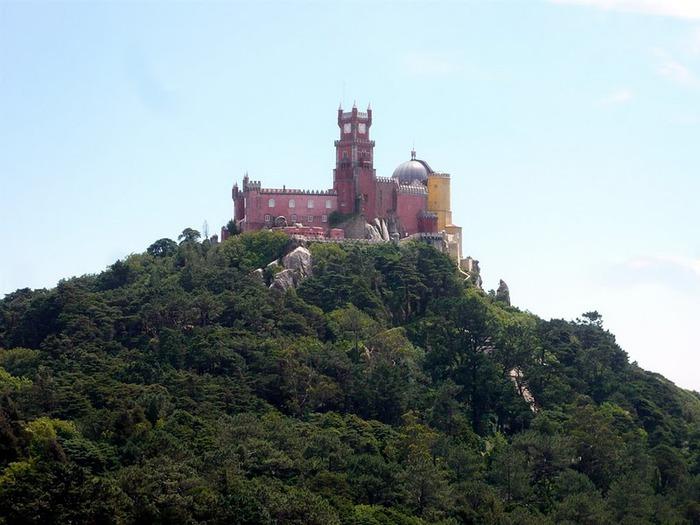 Замок Пена. Синтра, Португалия 33551