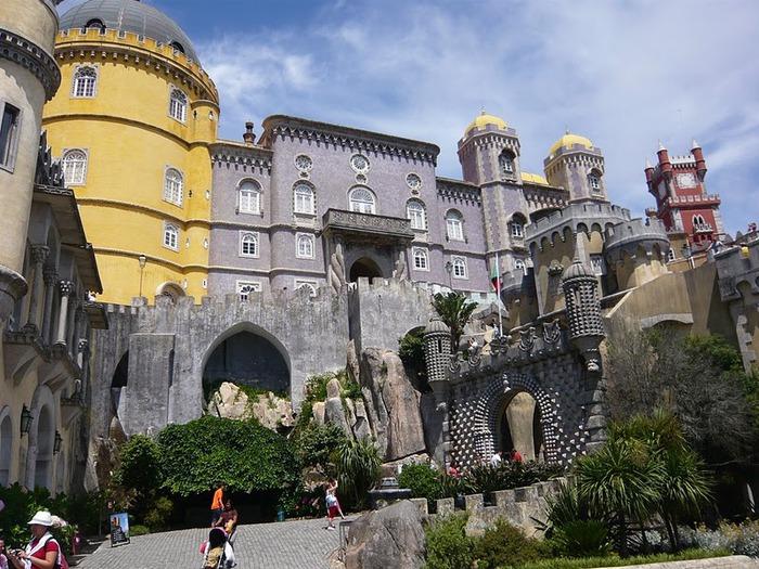 Замок Пена. Синтра, Португалия 77961