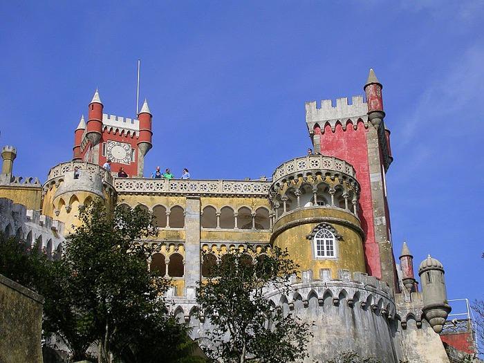 Замок Пена. Синтра, Португалия 15521
